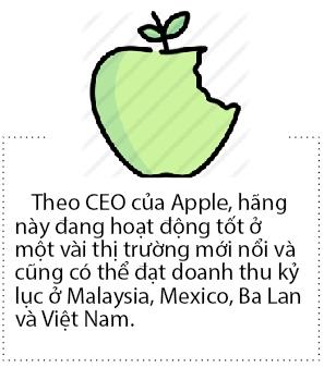 CEO Apple hy vong dat doanh thu tot tai thi truong Viet Nam