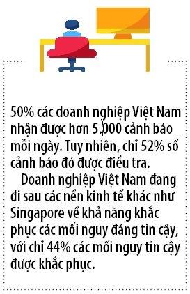Doanh nghiep Viet chiu anh huong nhieu nhat tu cac cuoc tan cong mang