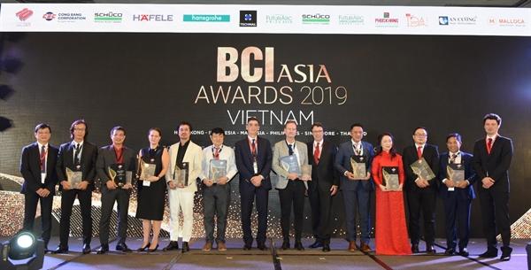 BCI Asia vinh danh 10 Cong ty Thiet ke va Chu dau tu hang dau Viet Nam