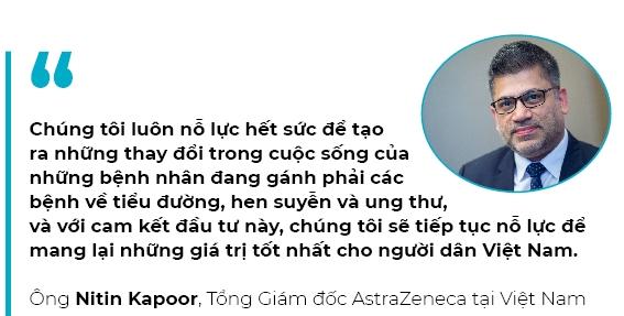 AstraZeneca dau tu 5.000 ti dong: Cu hich lon trong linh vuc y te Viet Nam