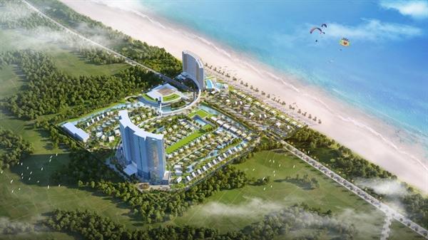 Chu dau tu Ben Thanh – Long Hai chinh thuc ra mat du an Wyndham Tropicana Resort & Villa Long Hai