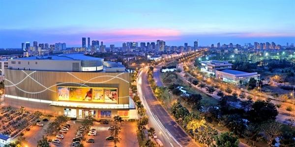 "Sunshine City Sai Gon noi dai ""dai lo quoc te"" tai khu vuc Nam Sai Gon"