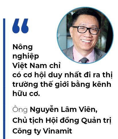 Vinamit bac cau Organic vao Trung Quoc