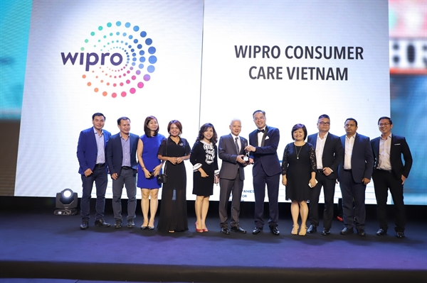 Wipro Consumer Care Viet Nam lan thu 2 nhan giai thuong: Noi lam viec tot nhat chau A