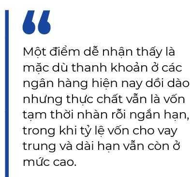 Chay dua tang lai suat huy dong trung, dai han: Lai vay lieu co tang theo?