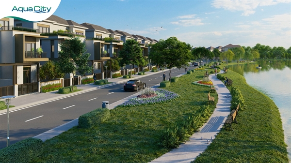 Aqua City mang đến cơ hội tận hưởng một không gian sống hiện đại trong một cộng đồng văn minh.