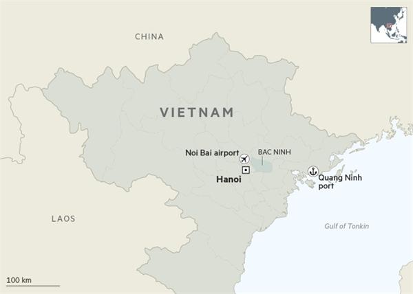 Bắc Ninh là điểm đến được nhiều doanh nghiệp lựa chọn trước làn sóng dịch chuyển sản xuất. Ảnh: ft.com