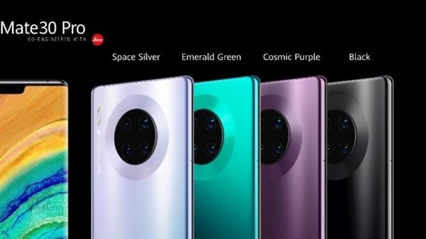 Huawei Mate 30 Pro được cài đặt nền tảng hệ điều hành Android mã nguồn mở (AOSP). Ảnh CNBC