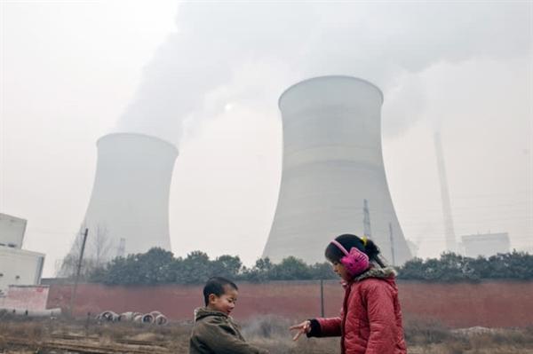 Điện than gây ra ô nhiễm lớn tại Trung Quốc.