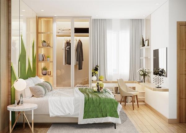100% căn hộ thiết kế thông minh phù hợp với nhu cầu sử dụng của cư dân.