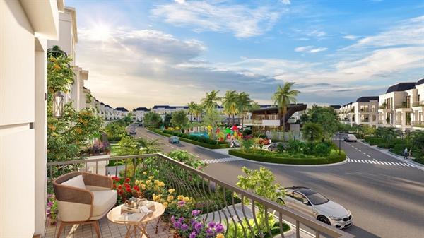 Một dự án biệt thự nghỉ dưỡng ven đô TP.HCM (Ảnh: West Lakes Golf & Villas – Trần Anh Group)