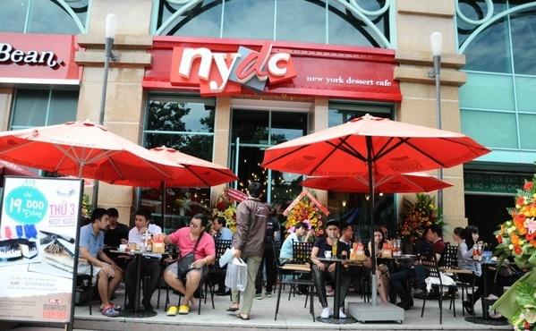 Tháng 7/2016, thương hiệu cafe đình đám NYDC ra đi trong sự ngỡ ngàng của nhiều người. Ảnh: diadiemanuong