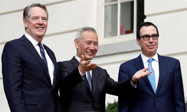 Mỹ - Trung Quốc đã đạt thỏa thuận 1 phần. Ảnh: reuters