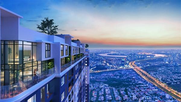 An cư tại C-Sky View, cư dân thư thái ngắm nhìn trọn vẹn cảnh quan TP Thủ Dầu Một.