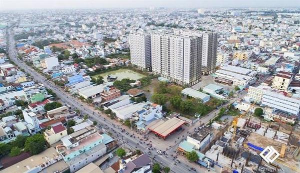 Giá đất tăng khiến giá bán nhà ở tăng cao