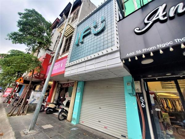 Việc đột ngột đóng cửa các cửa hàng ở Hà Nội không được IFU thông báo qua các kênh Website hoặc Fanpage.