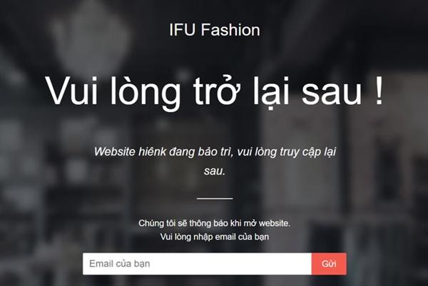 Thậm chí, Website và Fanpage của thương hiệu cũng báo lỗi, không thể truy cập.