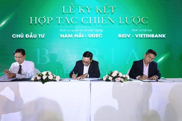 Lễ ký kết hợp tác chiến lược để cùng đồng hành phát triển khu dân cư Baria Residence