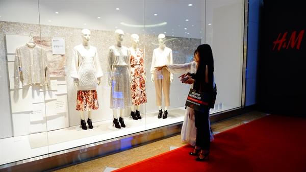 H&M vừa khai trương cửa hàng đầu tiên tại Đà Nẵng / Ảnh: Đạt