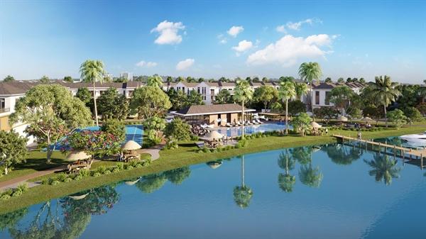 Với quy mô lên tới 600ha, Aqua City dành hơn 70% diện tích phát triển mảng xanh và tiện ích