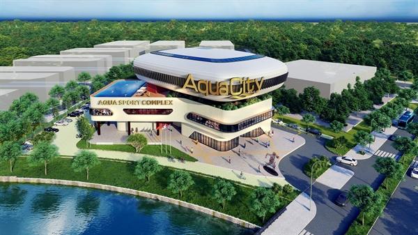 Aqua City có đầy đủ các tiện ích đẳng cấp đáp ứng nhu cầu sống xanh thời hiện đại của cư dân