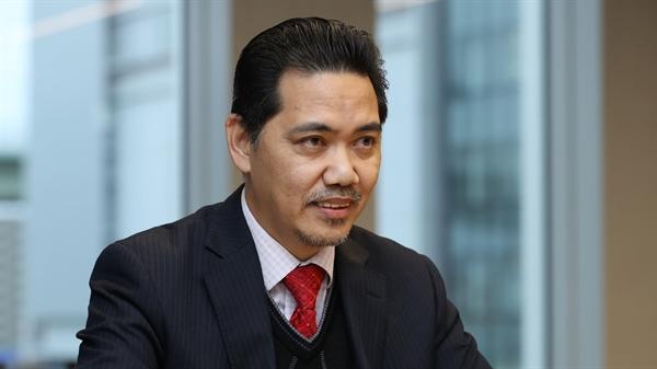 Azlikamil Napiah, người đứng đầu Cơ quan Vũ trụ Malaysia, nhằm mục đích hiện thực hóa chương trình phát triển vệ tinh tại Malaysia. (Ảnh của Koji Uema)