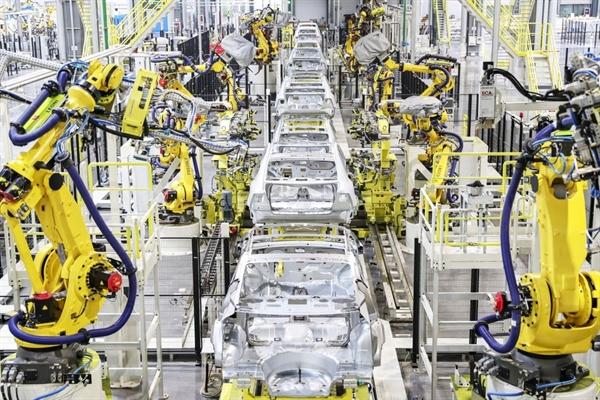 Nhà máy xe điện của Evergrande. Ảnh: SCMP.