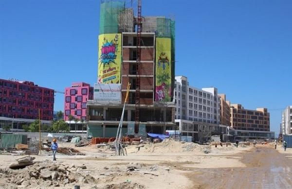 """Thị trường bất động sản đã trở nên nóng trong những ngày gần đây trước thông tin về """"cú ngã"""" của Cocobay Đà Nẵng."""