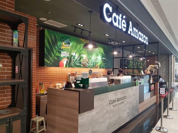 Cafe Amazon là chuỗi cửa hàng cafe Thái Lan nổi tiếng khắp Châu Á