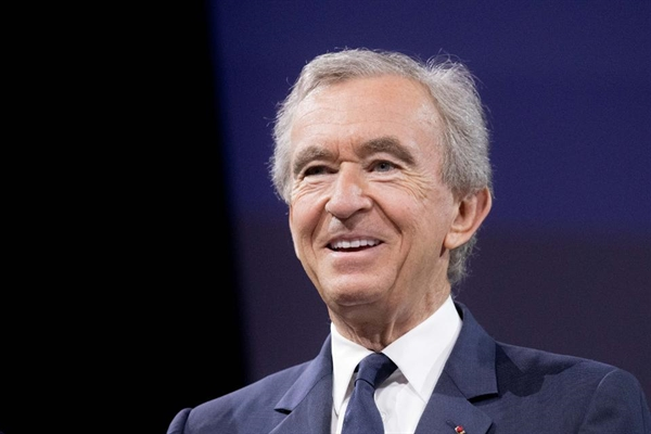 Bernard Arnault, Giám đốc điều hành của chuỗi cửa hàng xa xỉ Pháp LVMH. Ảnh: Forbes