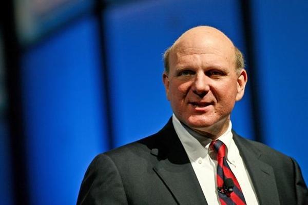 Steven Ballmer,Giám đốc điều hành của Tập đoàn Microsoft. Ảnh: Baodautu.