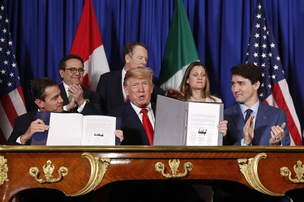 Mỹ thay thế NAFTA bằng USMCA trong năm 2019