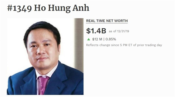Ông Hồ Hùng Anh.