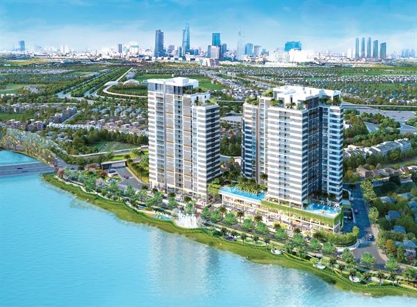 Với lợi thế ven sông, các căn hộ d'Lusso đều được tối ưu thiết kế để chủ nhân thừa hưởng view sông thoáng đãng, xanh mát.