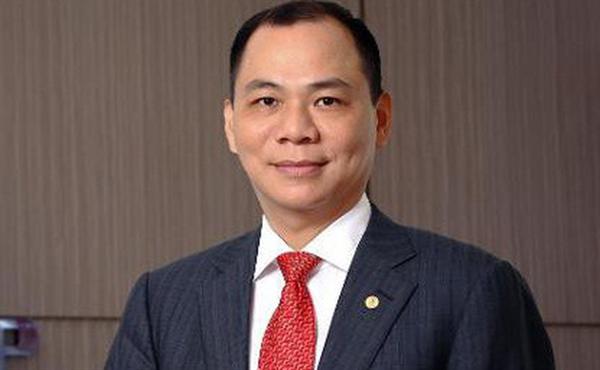Ông Phạm Nhật Vượng, Chủ tịch Tập đoàn Vingroup, người giàu nhất trên thị trường chứng khoán Việt Nam. Ảnh: Soha.