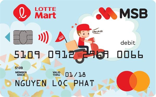 Thẻ ghi nợ liên kết LOTTE Mart