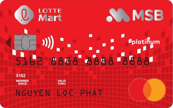 Thẻ tín dụng liên kêt LOTTE Mart