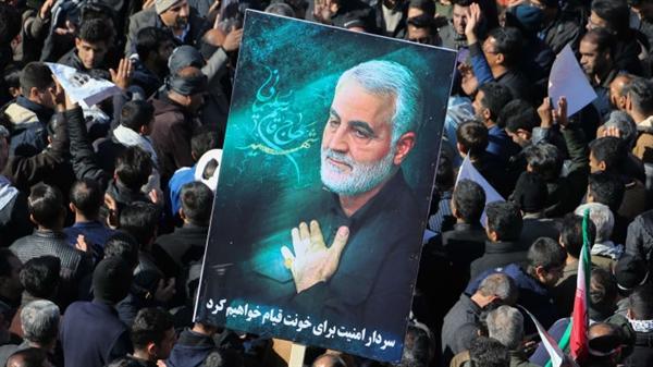 Soleimani đã bị một cuộc không kích của Mỹ giết chết tại một sân bay ở Baghdad vào thứ Sáu, giờ Iraq.