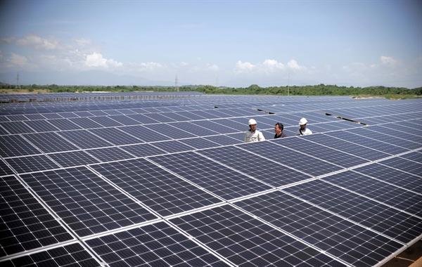 Thủ tướng đồng ý bổ sung dự án điện mặt trời có công suất 450MW vào quy hoạch. Ảnh: