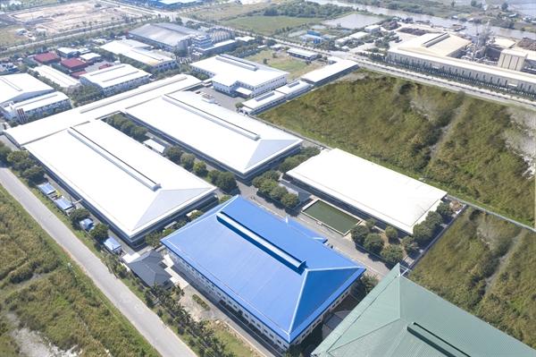 Cụm công nghiệp quy mô lớn của TBS Group.