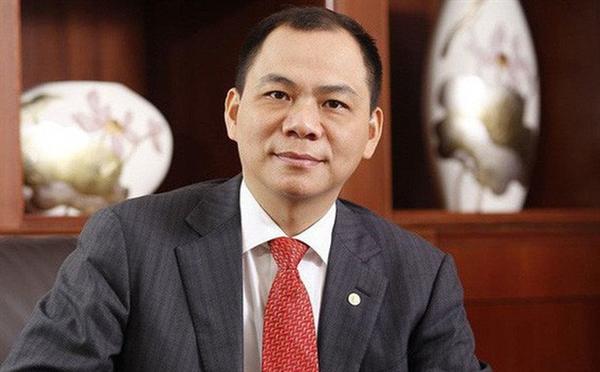 Tỷ phú Phạm Nhật Vượng, Chủ tịch HĐQT Tập đoàn Vingroup. Ảnh: Wiki.