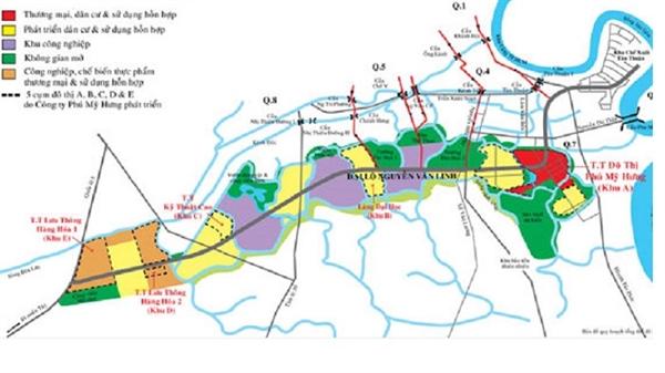Quy hoạch khu đô thị mới Nam thành phố. Ảnh: Bizlive.vn