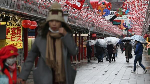 Khách du lịch đến Nhật Bản giảm mạnh. Nguồn: Nikkei Asian Review