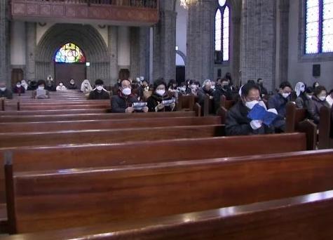 Nhà thờ ở Daegu, Hàn Quốc. Nguồn: SCMP