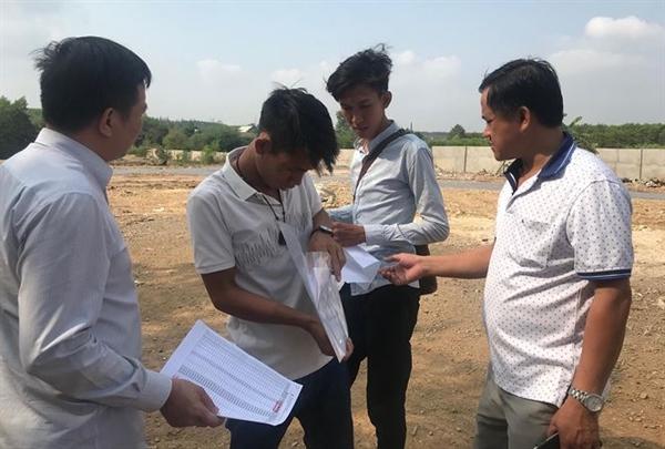 Giá đất nền tại Long Thành liên tục tăng nóng trong năm 2019. Ảnh: tienphong.vn