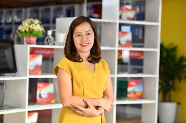Phó tổng giám đốc Vietjet, bà Nguyễn Thị Thúy Bình.