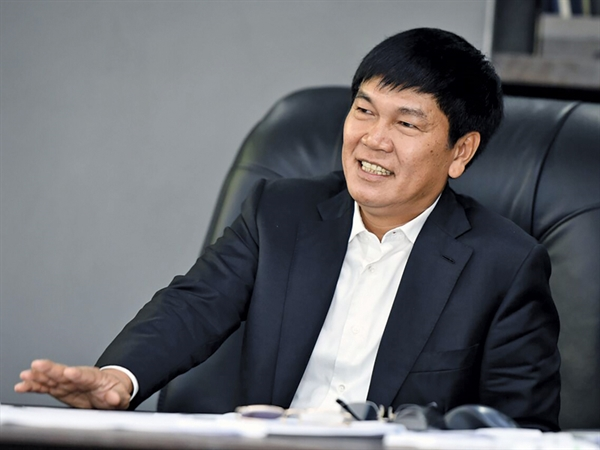 Ông Trần Đình Long, Chủ tịch HĐQT Thép Hòa Phát. Ảnh: Vietnamfinance.
