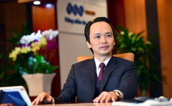 Ông Trịnh Văn Quyết, Chủ tịch HĐQT Tập đoàn FLC. Ảnh: Baodautu.
