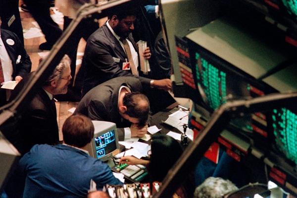 Ngày thứ Hai đen tối năm 1987. Ảnh: New York Times