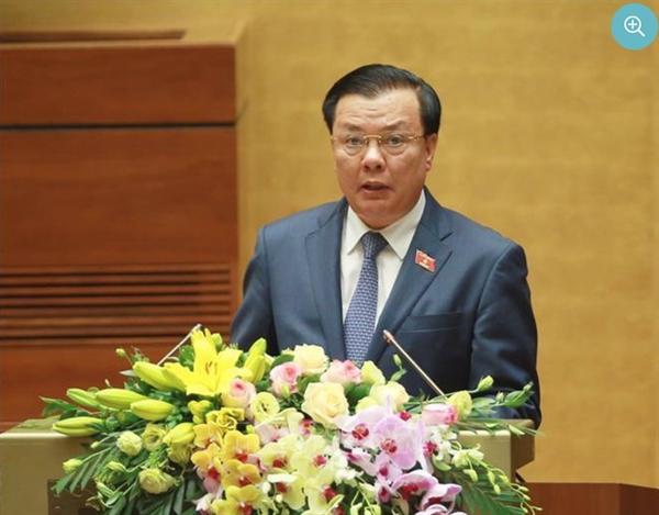 Bộ trưởng Bộ Tài chính Đinh Tiến Dũng. Nguồn ảnh: TTXVN